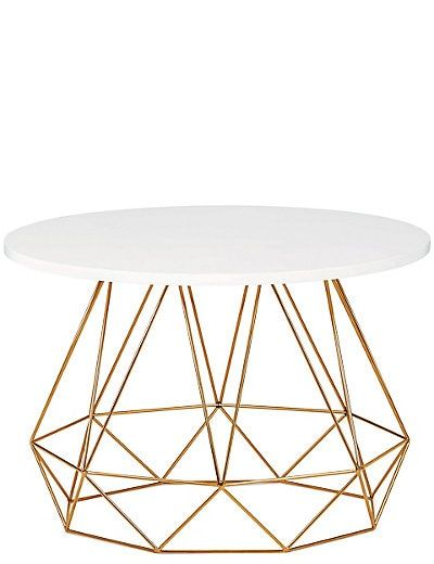 Lena Copper Coffee Table Copper Coffee Table Table Furniture