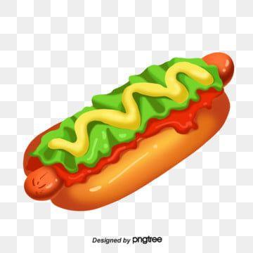 Pintado A Mano De Comida Rapida Americana Hot Dog Imagenes Predisenadas De Hot Dog Comida Sandwich Png Y Psd Para Descargar Gratis Pngtree Hot Dogs American Fast Food Food Clipart