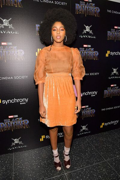 Jessica Williams attends the screening of Marvel Studios' 'Black Panther' hosted by The Cinema Society.