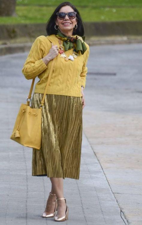У стиля нет возраста — последние тенденции в мире «зрелой» моды ... c02c343eed6