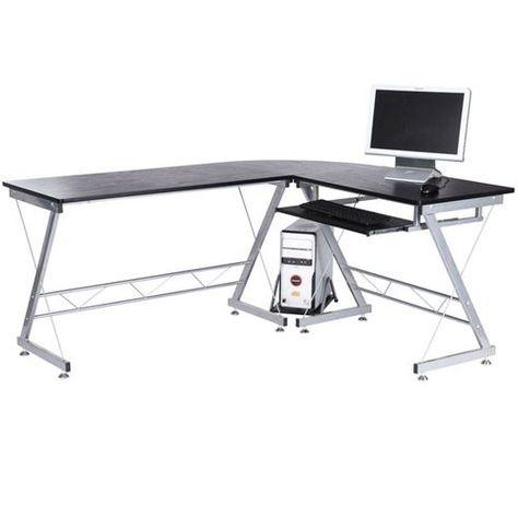 Bureau D Angle Bureau Informatique Design Contemporain Métal