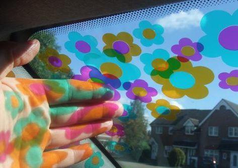 Vinyl cars stickers motors 23 New Ideas Car Interior Decor, Car Interior Accessories, Cute Car Accessories, Car Interior Design, Cafe Interior, Hippie Auto, Hippie Car, Hippie Music, Car Stickers