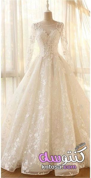 فساتين زفاف محجبات مصرية فساتين افراح محجبات2019 فساتين زفاف محجبات محتشمة Kntosa Com 19 19 155 Ball Gowns Wedding Bridal Dresses Ball Gown Wedding Dress