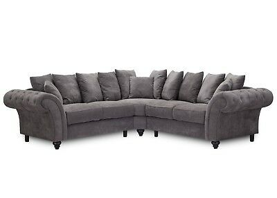 Details About The Windsor Corner Sofa Sofa Club In 2020 Fabric Sofa Corner Sofa Elegant Living Room Design