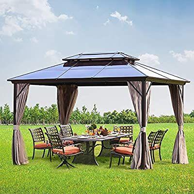 Hardtop Gazebo Canopy Tent Outdoor, Outdoor Canopy Gazebo
