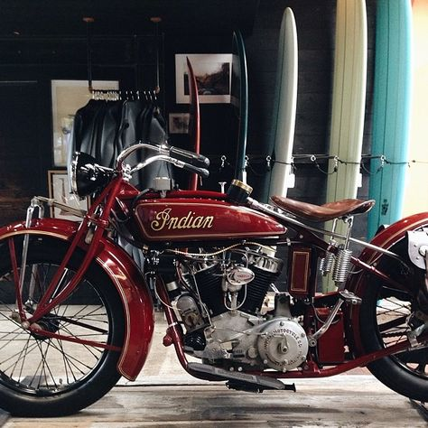 """1927 #Indian motorcycle """"big chief"""" formerly owned by #SteveMcqueen"""