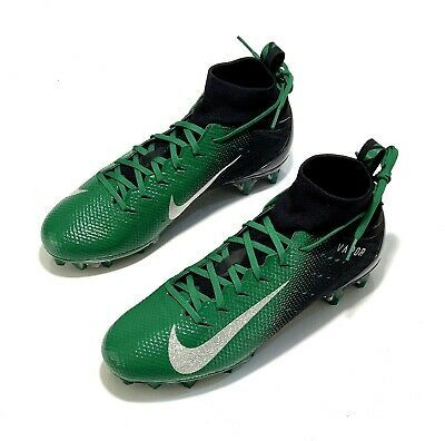 Advertisement Ebay Nike Vapor Untouchable 3 Pro Football Cleats Green Black 917165 001 Size 10 Mens Football Cleats Football Cleats Nike Vapor