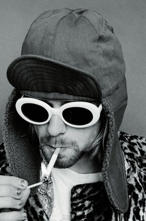 Kurt Cobain in 1993 by Jesse Frohman