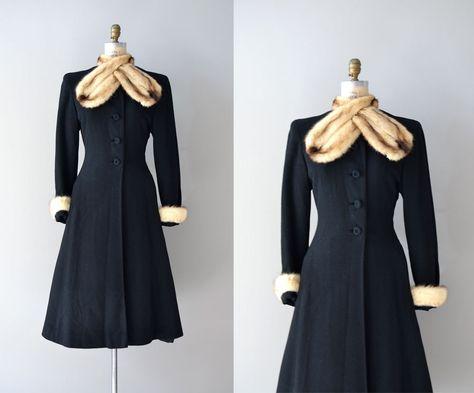 vintage 1930s coat princess coat Million Dollar Baby