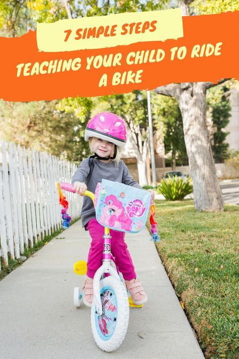 Teaching Your Child To Ride A Bike 7 Simple Steps Bike With