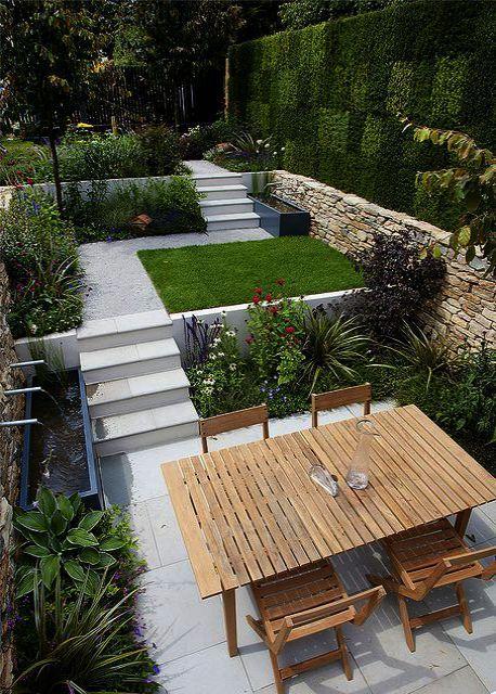 Design Free Gardening Landscape Software Sussex Landscape Gardening Course Sussex From Landscape G In 2020 Modern Garden Design Small Garden Design Sloped Garden