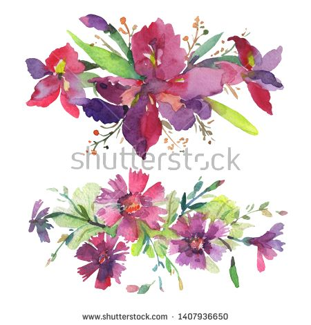 Stock Photo Bouquet Floral Botanical Flowers Wild Spring Leaf