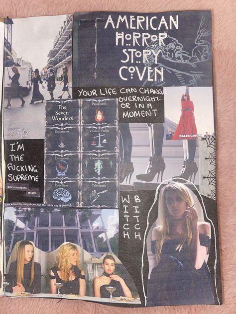 ahs coven film journal @journalwsophie_