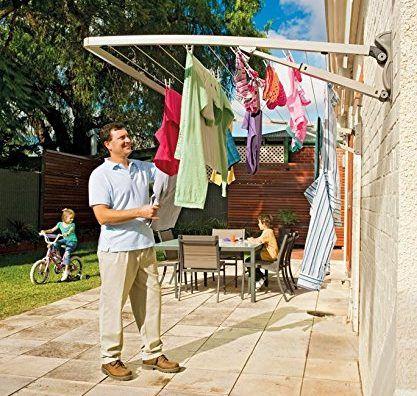 外で洗濯物を干すのであれば せっかくならおしゃれな物干しを使いたい