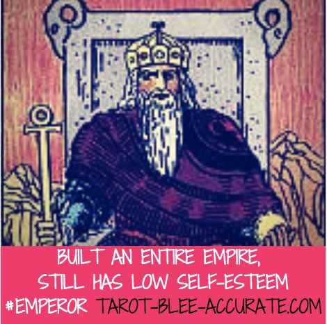The #emperor #tarotcard is one that many interpret differently, but for me he's a total #narcissist. In the #riderwaite deck when lined up in order he's looking at the #empress for #reassurance That outward #confidence and #success is masking his deep #insecurities #theemperor #tarot #tarotcardmeaning #tarotlesson #selfesteem #buildinganempire #tarotcards #tarotbleeaccurate #mpls #psychic #🔮 #spirituality #horoscope #zodiac #picoftheday #cardoftheday #tarotcardreadersofinstagram #tarotmeme