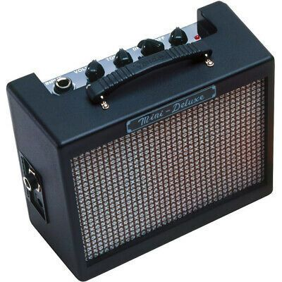 Fender Mini Deluxe Amp Battery Powered Mini Practice Amp Electric Guitar And Amp Guitar Amps For Sale Mini Amplifier