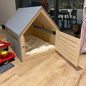 Modern Dog And Cat House Dog Bed Cat Bed Wooden Pet House Modern Pet House Modern Pets Furniture Dog Pillow Cat Pillow Indoor Dog House Indoor Dog House Dog Bed Dog Bedroom