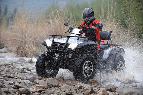 ATV Quad Bike Biking All Terrain Jump Off Road Moto 4x4 Langarmshirt