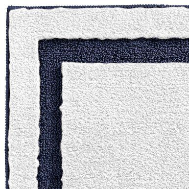 Mdesign Microfiber Bath Mat Non Slip Bathroom Rug White Light