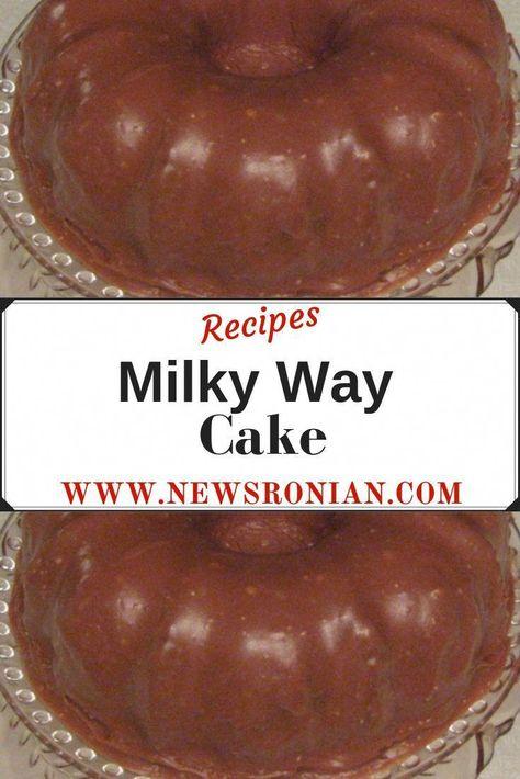 Milky Way Cake | newsronian #oreocake