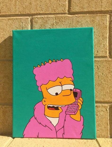 Bart Simpson Painting