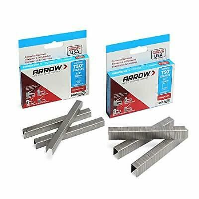 Details About Arrow T50 Stainless Steel Staples Pack Set 508ss1 1 2 12mm And 506ss1 3 8 Steel Ebay Roofing Felt