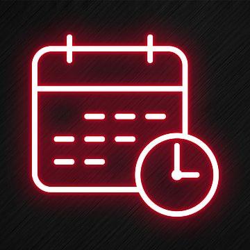 Neonowe Ikony Obrazy Png Wektory I Pliki Psd Darmowe Pobieranie Na Pngtree In 2021 Calendar Logo App Icon Ios Icon