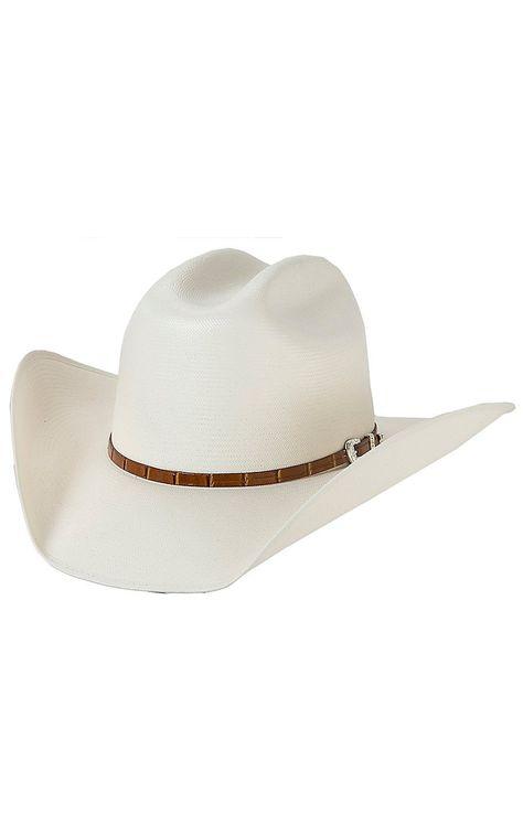 Stetson Stallion 100X Maximo Straw Cowboy Hat  ThingstoWear 1f5556bb6bf