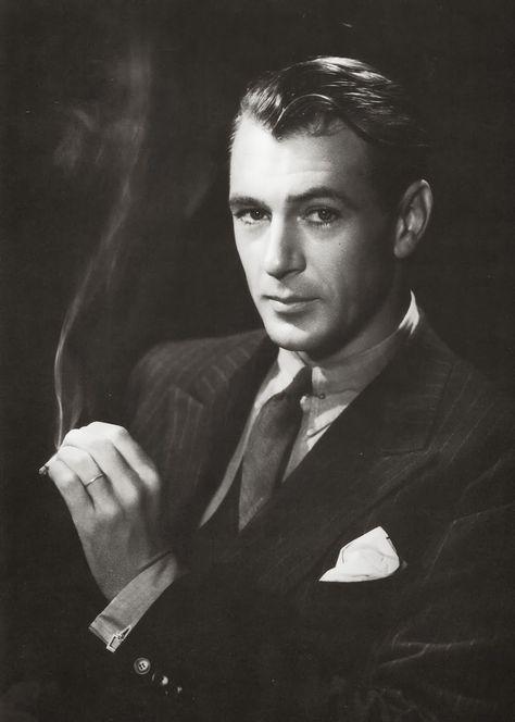 60 Gary Cooper   Gary Cooper photographié par Bert Stern, 1960.