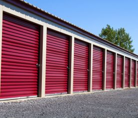 Which Overhead Doors Are Right For Your Storage Facility Self Storage Storage Rental Rv Life