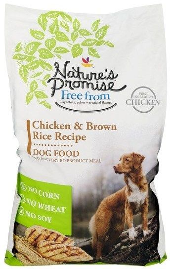 Recalled Nature S Promise Chicken Brown Rice Recipe Dog Food