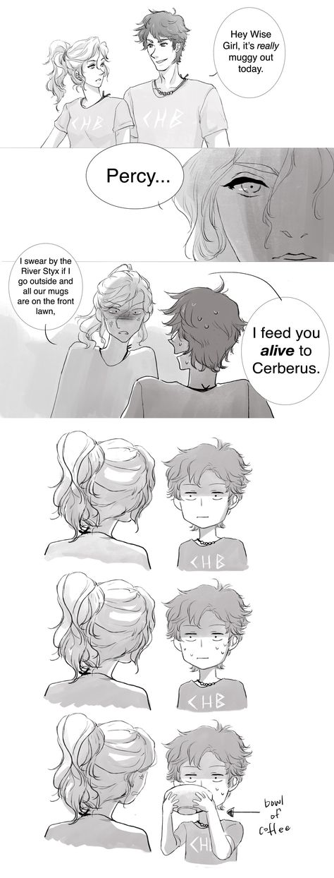 By far the best PJO fan comic I've ever seen XD<<< Oh my Gods this is hilarious XD