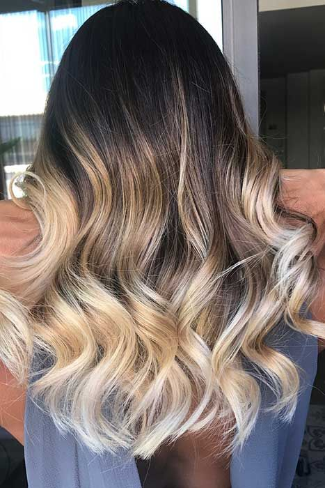 23 Winter Hair Color Ideas Trends For 2018 Stayglam In 2020 Ombre Hair Blonde Winter Hair Color Winter Hairstyles