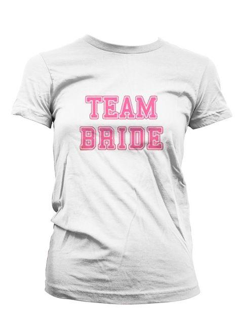 Just Married Metallic Script Wedding Marriage Bride /& Groom Juniors T-shirt