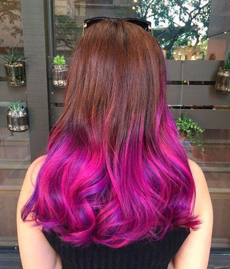 20 Dip Dye Hair Ideas Delight For All Dip Dye Hair Dipped Hair Pink Hair Tips