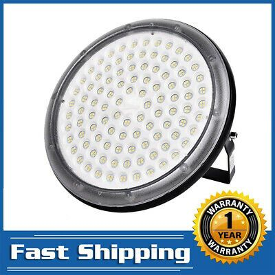 100W UFO LED High Bay Light Gym Factory Warehouse Industrial Shed Lighting 110V