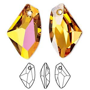 Beautiful Austrian Crystal VERTICAL FACET DROP Pendant Suncatcher Prism Ornament