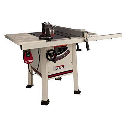 Jet 708492k Jps 10ts 10 Inch Proshop Tablesaw With 30 Inch Fence Steel Wing And With Riving Knife Review Home Made Table Saw Diy Table Saw Table Saw