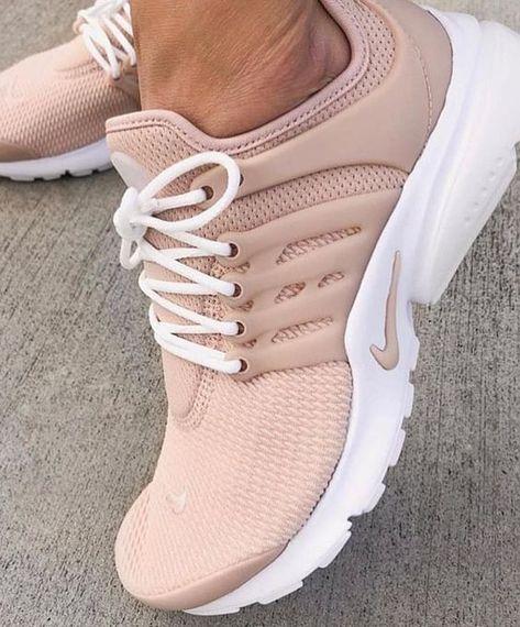 Nude Nike sneakers - Nude Nike Air Presto sneakers for women Cute Shoes For Teens, Trendy Shoes, Cute Sneakers, Girls Sneakers, Presto Sneakers, Casual Sneakers, Shoes Sneakers, Shoes Heels, Womens Fashion Sneakers