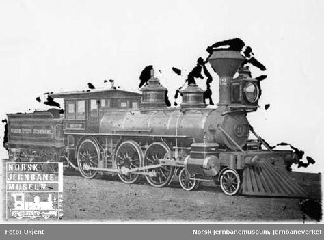 Leveransefoto av damplokomotiv type 14a nr. 12   Ukjent