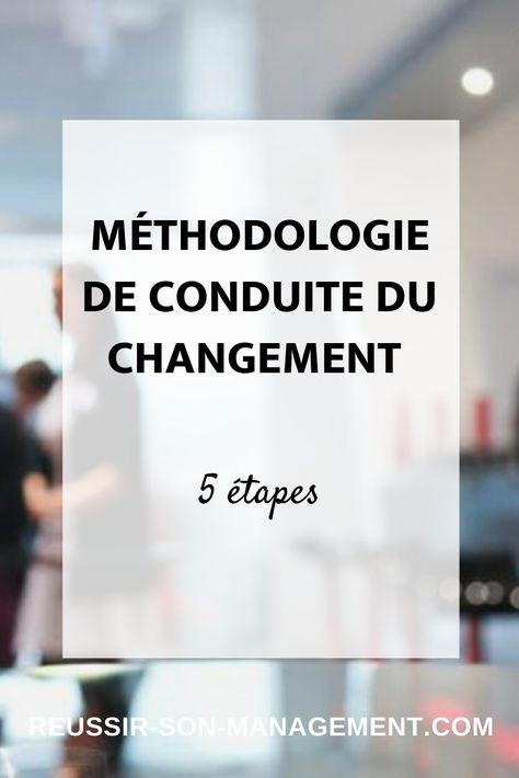 Méthodologie de conduite du changement en 5 étapes