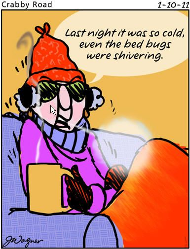 Maxine on cold