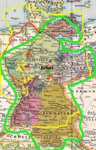 Rheinbund Und Rheinbund 2 0 Map History Map Screenshot