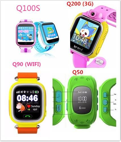 Diggro TD01-B Kids Smart Phone Watch GPS LBS Location Tracker ... 7bd0bfcce9