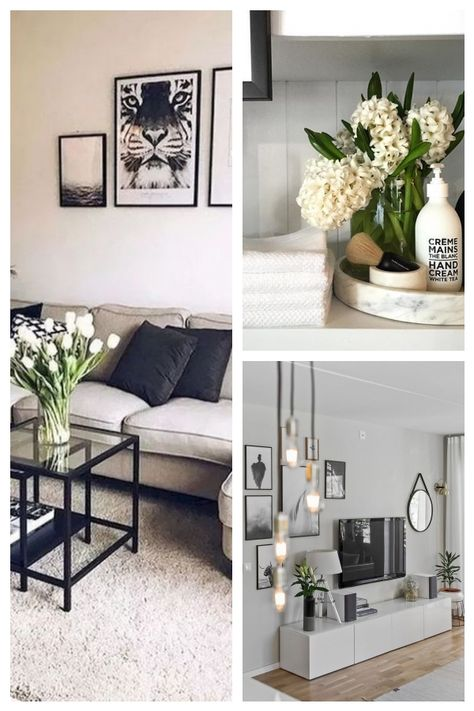Minimalistische Wohnzimmer Deko Ideen Livingroomideas