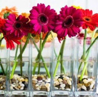 Centros de mesa on pinterest mesas bodas and cancun resorts for Centros de mesa para bodas sencillos y economicos