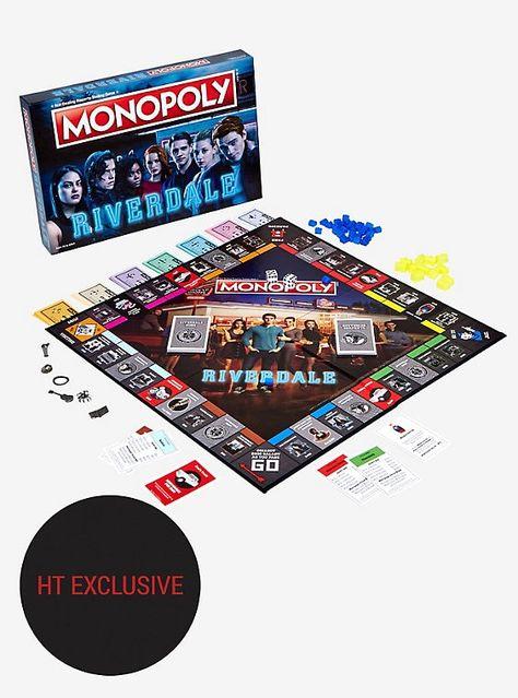 Monopoly Riverdale Board GameOfficial Riverdale MerchandiseGift Toy Adults