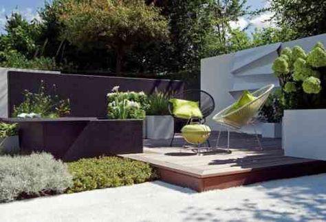 Comment aménager son jardin paysager moderne   Yards, Landscaping ...