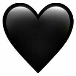 Coracao Preto Em Emoji De Coracao Coracao Preto Emoji Coracao Partido