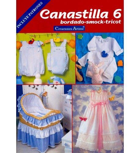 Canastilla Mas.Revista Canastilla 6 Mas Que Merceria Tu Tienda De
